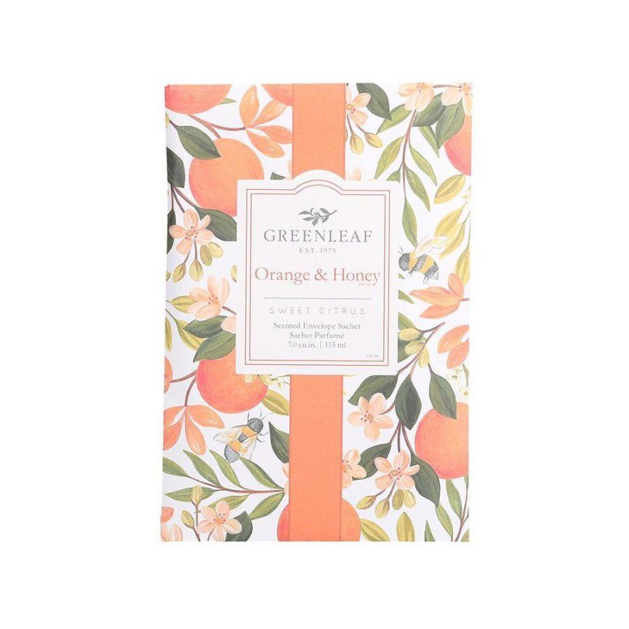 orange & honey greenleaf