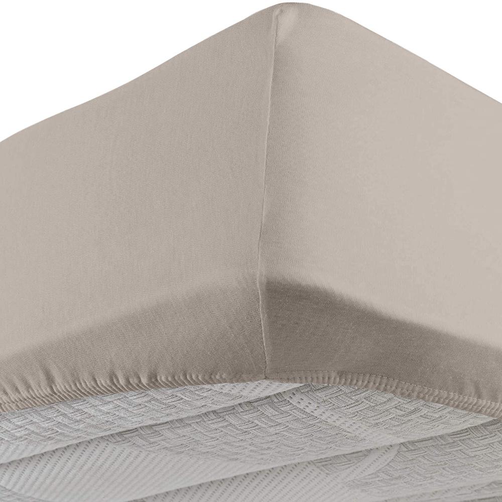 DAUNENSTEPVIVACOLOR Lenzuolo sotto con angoli in jersey di cotone